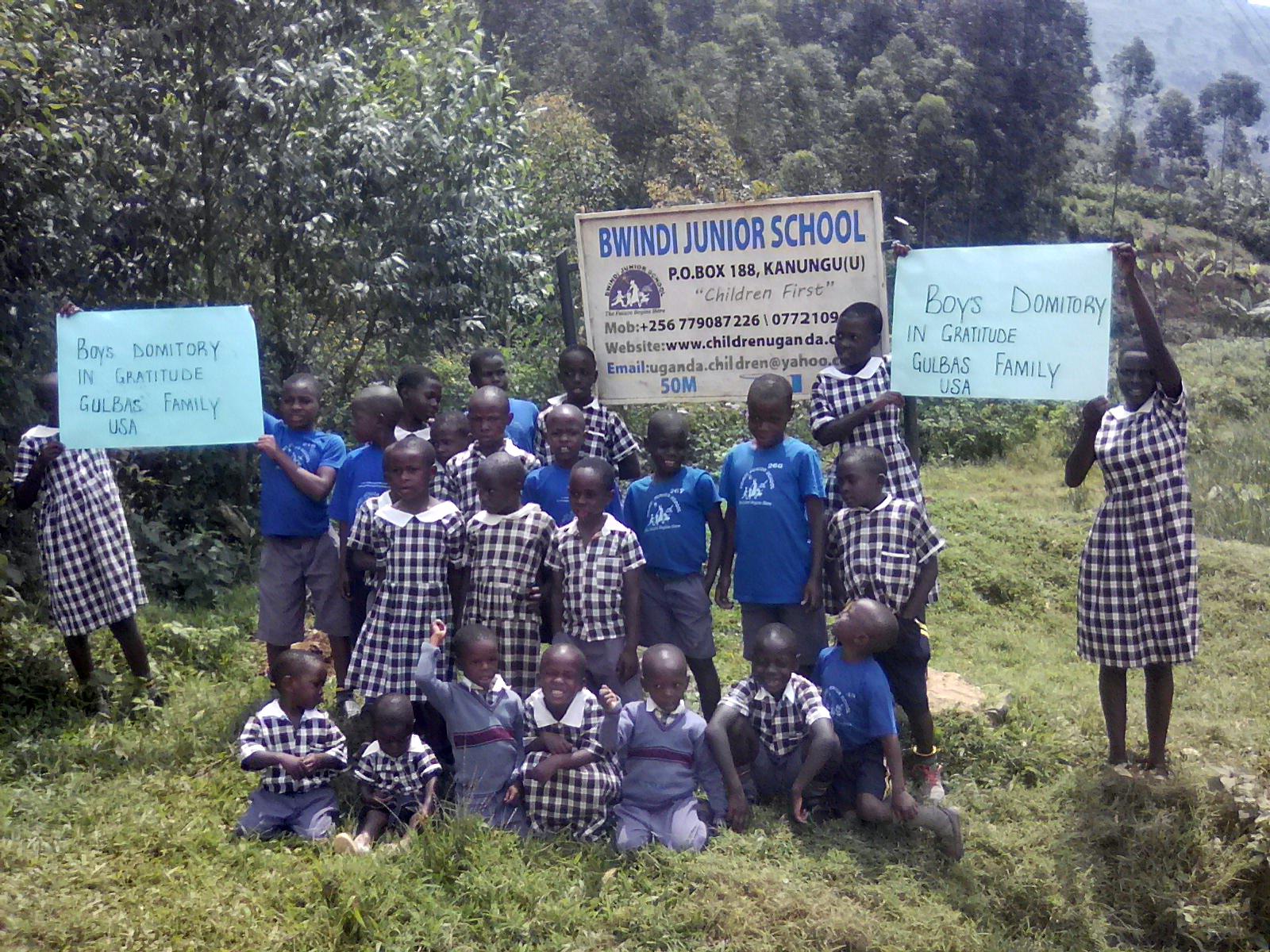 Bwindi Children Uganda Boys Dorm