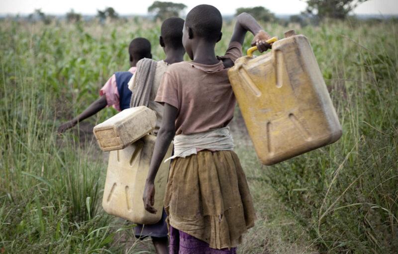children-water